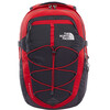 The North Face Borealis Backpack Red Asphalt TNF Red